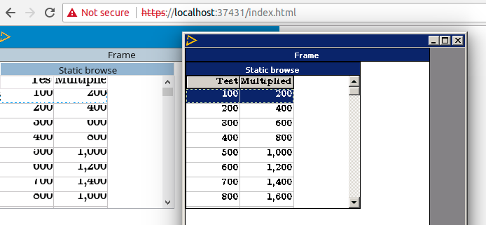 Feature #3261: enhanced browse that can optionally selected